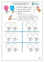 Colour balloons: how many ways?