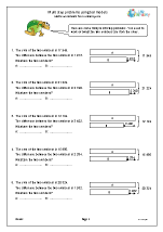 Multi step problems using bar models