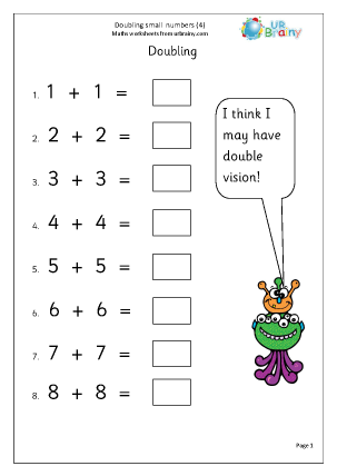 Multiply and Divide in Year 1 (age 5-6)