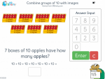 Combine groups of 10 with images