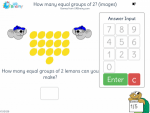 How many equal groups of 2 (images)
