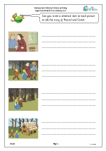 Hansel and Gretel: story writing