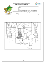 Rumpelstiltskin: colouring pictures