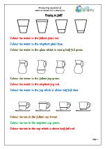 measure capacity 1 measurement maths worksheets for year 1 age 5 6. Black Bedroom Furniture Sets. Home Design Ideas