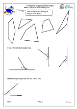Finding the largest or smallest angle