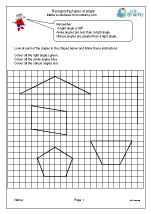 Recognising types of angle
