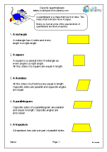 Classify 4-sided shapes