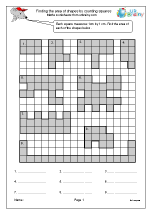 Area by counting squares