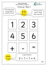 Make 4: number sentences