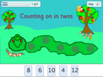 Count On In Twos