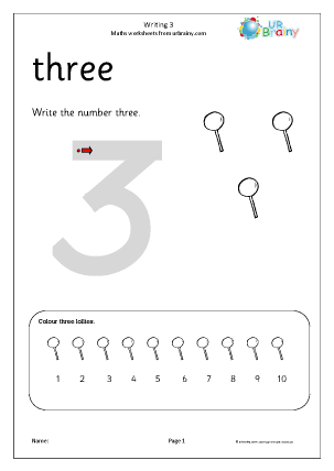 writing 3 writing number as digits maths worksheets for early reception age 4 5. Black Bedroom Furniture Sets. Home Design Ideas