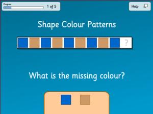 Shape Colour Patterns