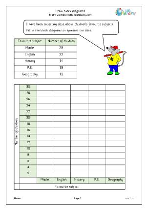 Preview of worksheet Block diagrams