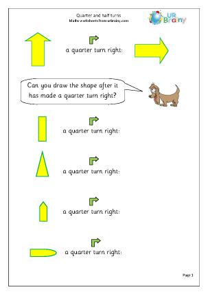 Quarter and half turns