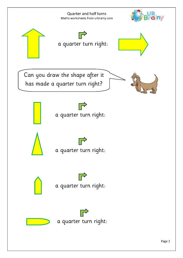 Preview of 'Quarter and half turns'