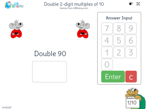 Preview of game Double 2-digit multiples of 10