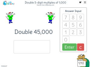 Preview of game Double 5-digit multiples of 1,000