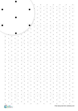 Preview of worksheet 1 cm isometric dotty paper (black & white)