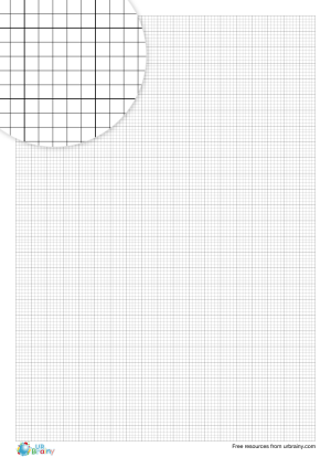 Preview of worksheet 2 mm graph paper (black & white)