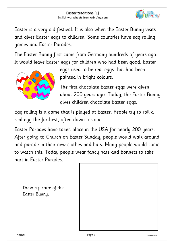 Preview of 'Easter traditions 1'