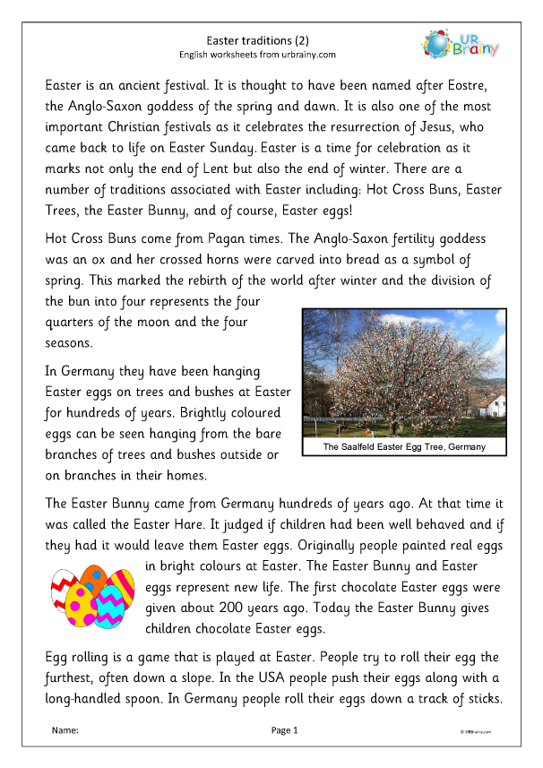 Preview of 'Easter traditions (2)'