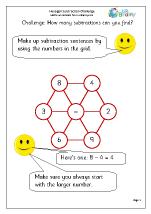 Make subtraction sentences