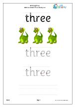 Writing Three