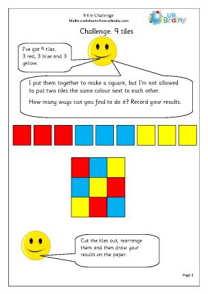 9 tile challenge