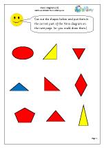 Venn diagrams (3)