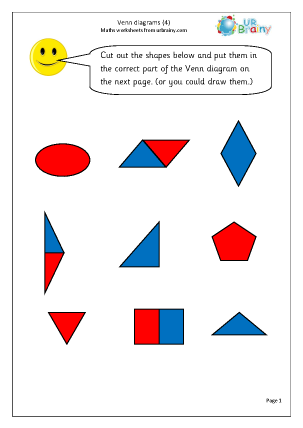 Venn diagrams (4)