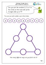 Triangle make 9