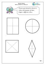 Quarter of shapes