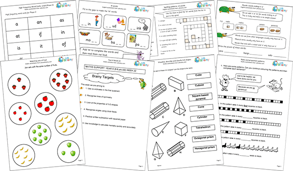 Urbrainy. Maths Worksheets English. Worksheet. Worksheets For Year 3 Numeracy At Clickcart.co